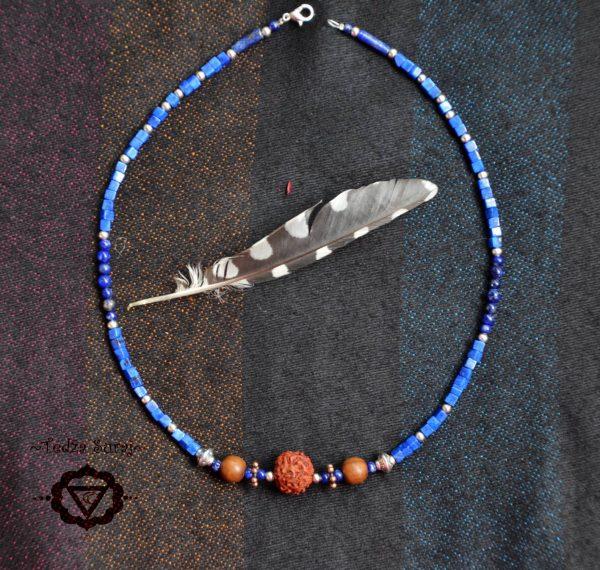 Verižica iz Lapis Lazuli kamna
