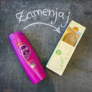 zamenjaj šampon